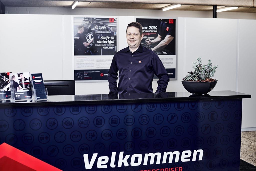 Indehaver af Skorstensgaard i Hobro - Lars Oppelstrup Møller - Tidligere CMH Biler