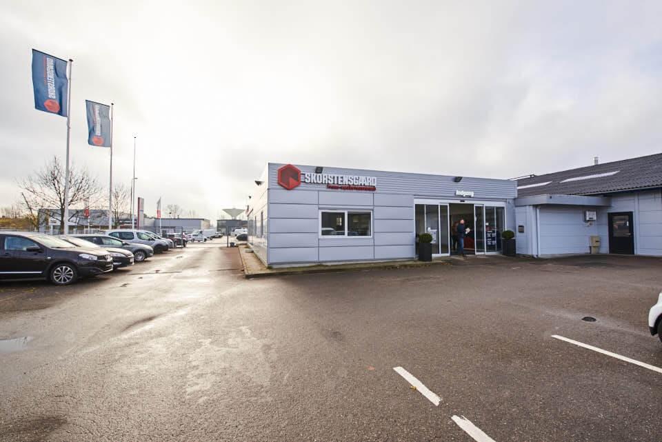 Skorstensgaard autoværksted i Køge, Ørnevej 4, 4600 Køge