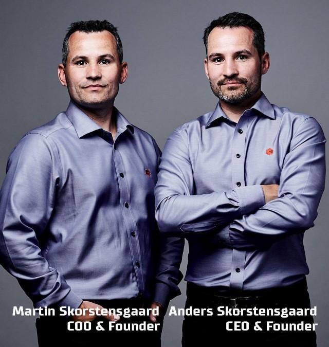 Anders og Martin Skorstensgaard passer på miljøet