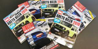 Stærke bil-årbøger er landet i nye udgaver
