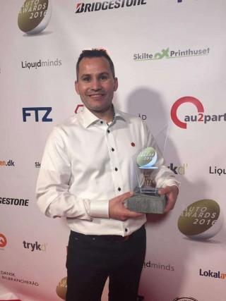 Skorstensgaard er Årets Værksted/autoværksted 2016