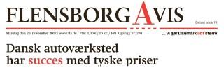 Flensborg Avis bemærker succesfuldt koncept med Tyske værkstedspriser