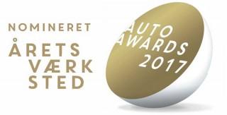 Skorstensgaard er nomineret til Årets værksted ved Auto Awards 2017