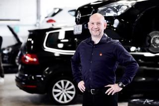 Brian Nielsen står i spidsen for ny afdeling i Egå hos værkstedskæden Skorstensgaard