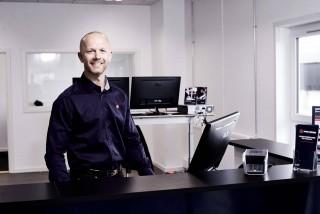 Skorstensgaard i Haderslev bestyres af partner og afdelingschef Dennis Petersen