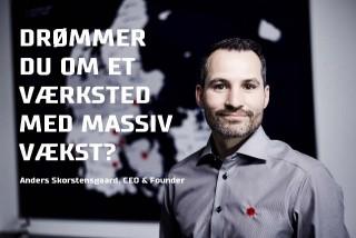 Skorstensgaard tilbyder partnerskab Anders Skorstensgaard smiler