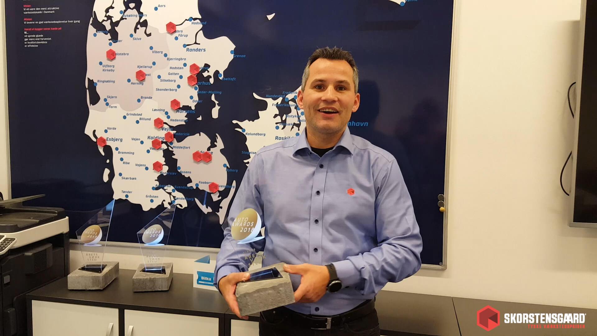 Vind gavekort med Skorstensgaard i anledning af Årets værksted 2018