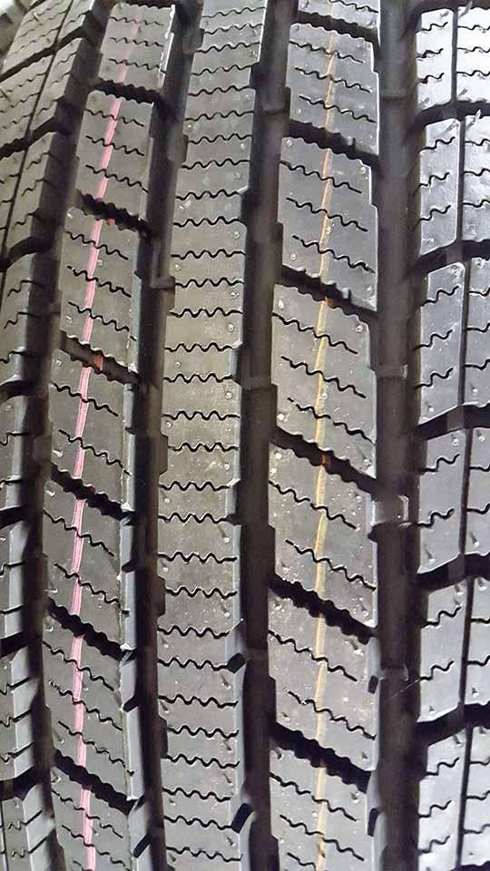 dækmønster på vinterhjul