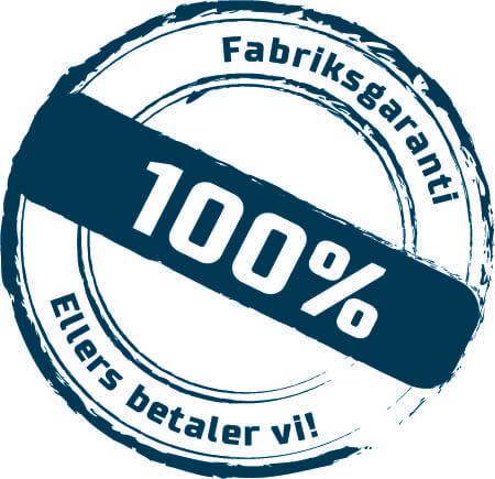 100% fabriksgaranti - ellers betaler vi! Skorstensgaard autoværksted Horsens