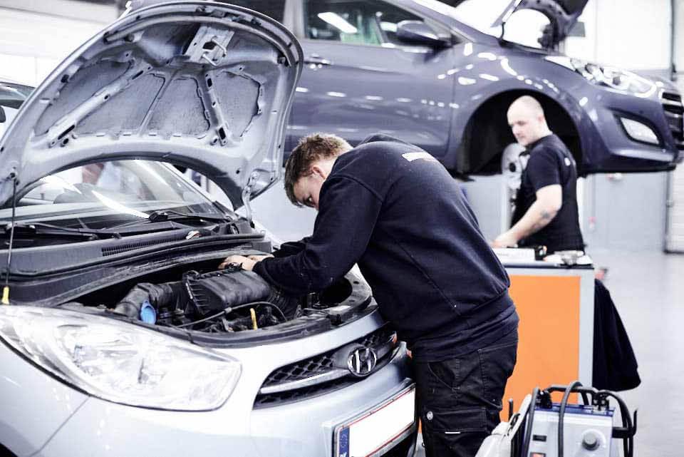 Skorstensgaard i Vejle, Kolding og Fredericia laver service og reparation på alle Hyundai biler