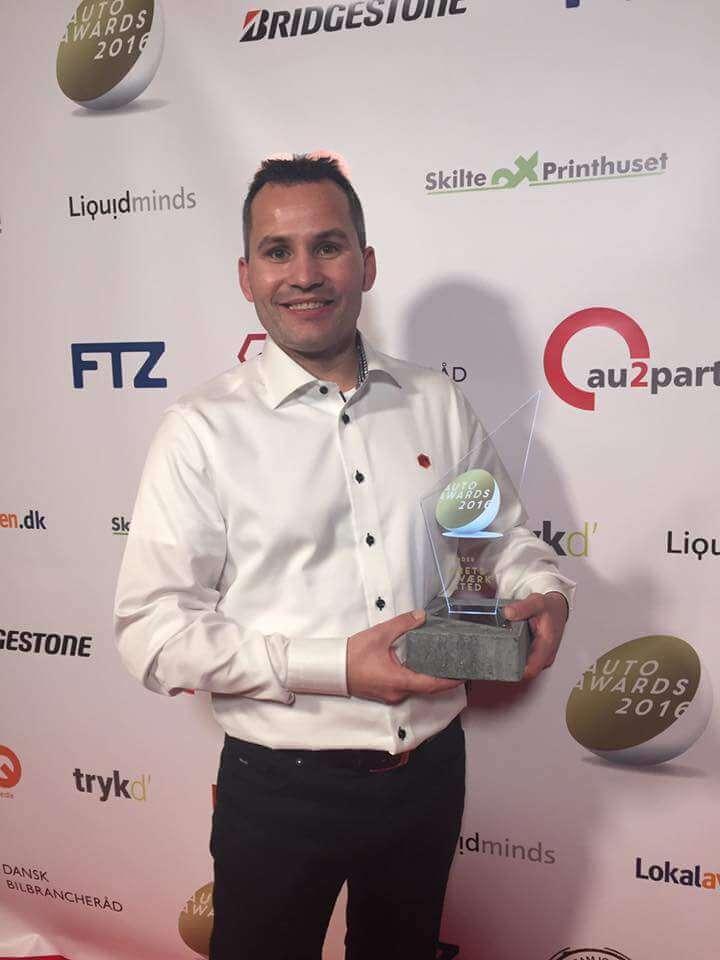 Skorstensgaard vandt prisen som Årets værksted 2016 - Vi går efter også at vinde her i 2017