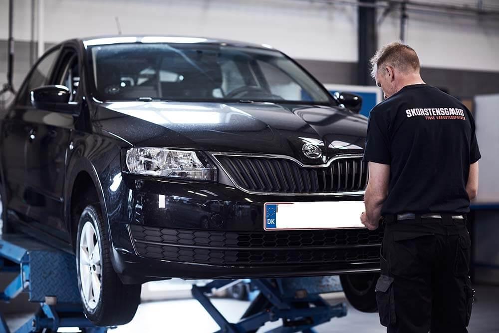 Skorstensgaard i Svendborg på Fyn byder alle Skoda ejere velkommen til tyske værkstedspriser på vores autoværksted