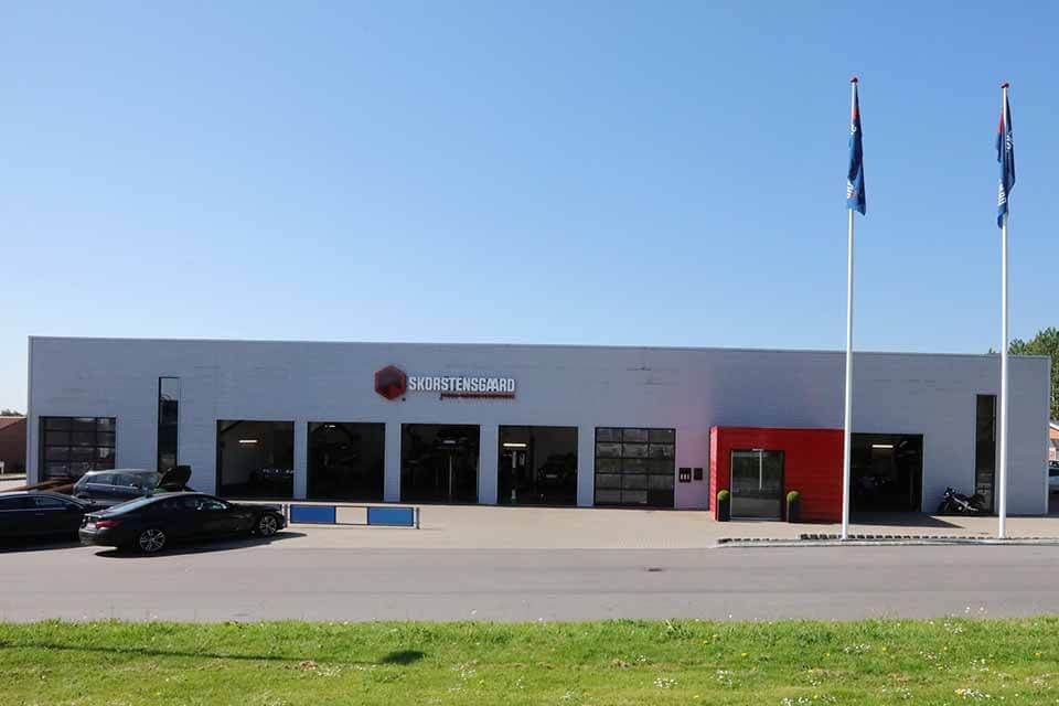 Værkstedet på Ellehammervej 1 i Ikast hed tidligere Carpeople, men fra midten af maj 2018 hedder det Skorstensgaard